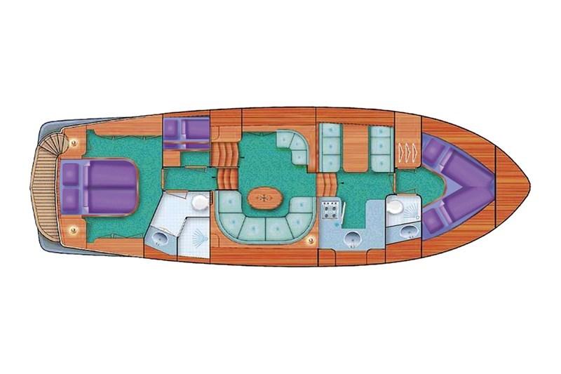 Aquanaut Privilege 1250 AK Grundriss