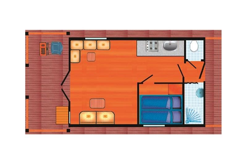 Sundeck Hausboot Grundriss
