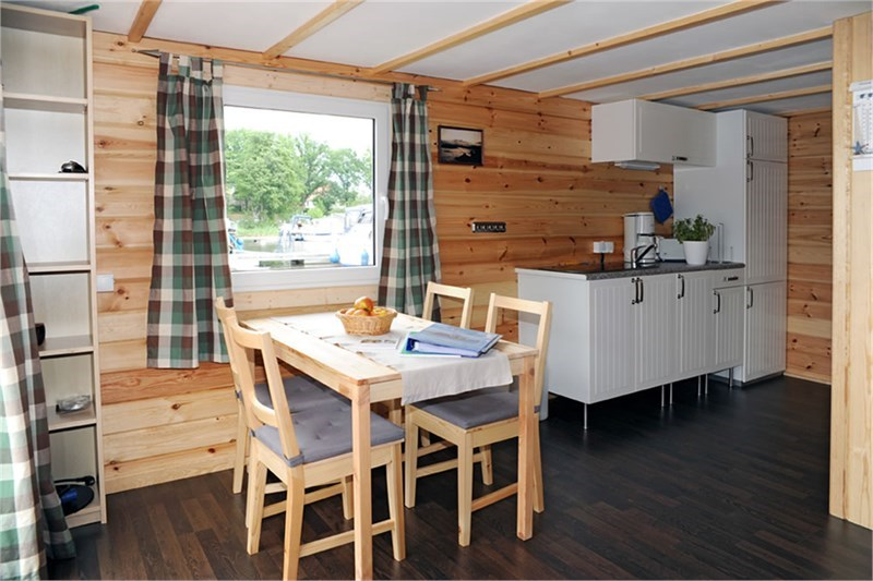 Sundeck Hausboot Sitzecke