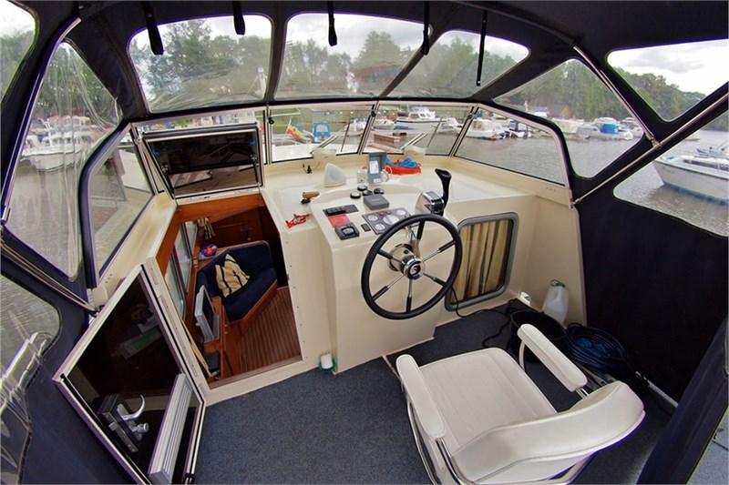 Aquanaut Drifter 1150 AK Steuerstand
