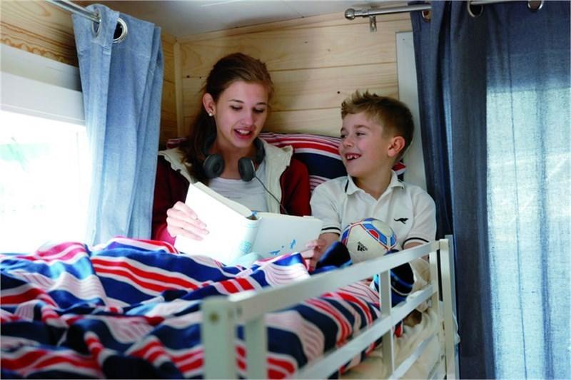 Pedro H2Home 1250 Schlafkabine mit Etagenbett