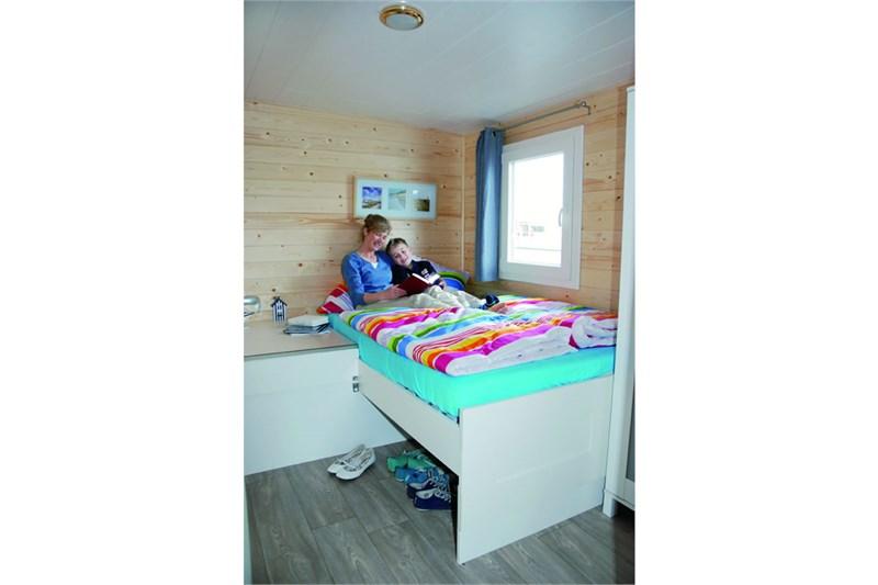 Pedro H2Home 1250 Schlafkabine mit Doppelbett